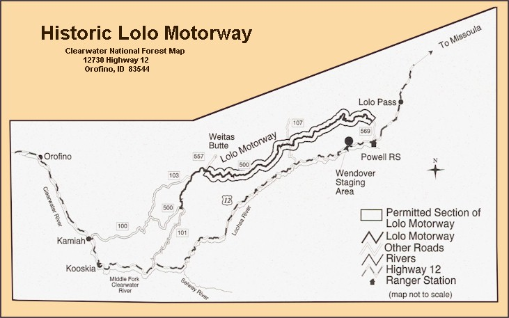 How To Find Historic Lolo Motorway On The Lewis And Clark Trail