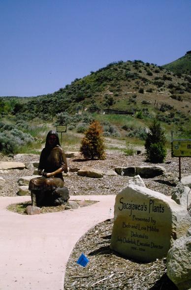 Sacajawea Monument In Boise, Idaho. Welcome To The Idaho Botanical Gardens  ...